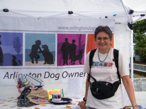 SUE HOSTED THE ADOG TENT THIS YEAR